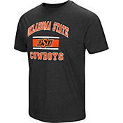 Colosseum Men's Oklahoma State Cowboys Grey Tri-Blend T-Shirt