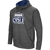 Colosseum Men's Old Dominion Monarchs Grey Fleece Pullover Hoodie