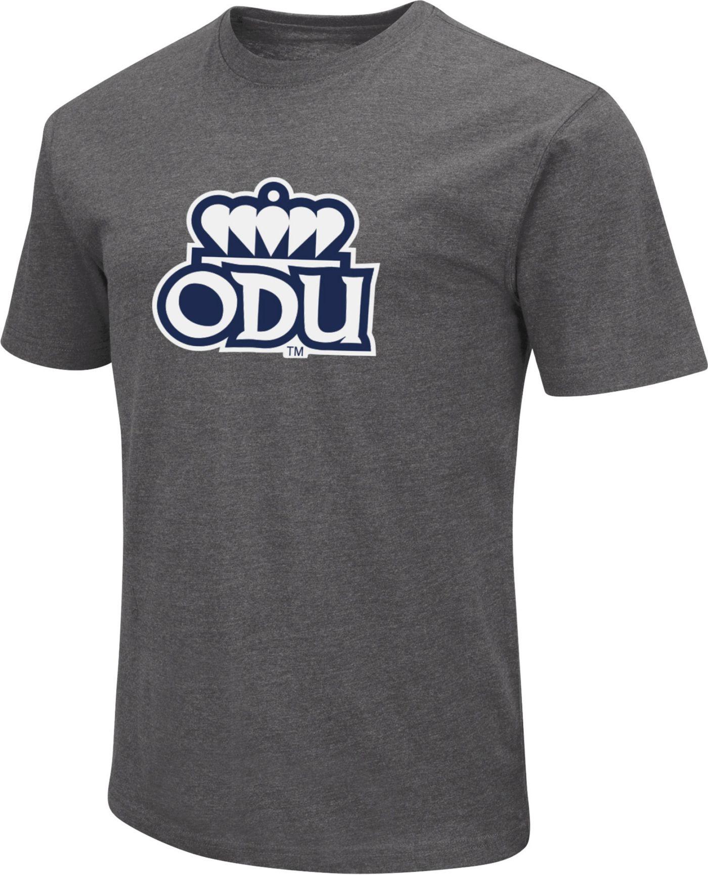 Colosseum Men's Old Dominion Monarchs Grey Dual Blend T-Shirt