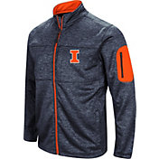 Colosseum Men's Illinois Fighting Illini Blue Glacier Full-Zip Jacket