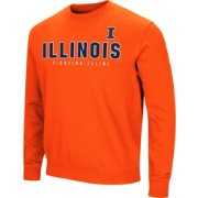 Colosseum Men's Illinois Fighting Illini Blue Playbook Fleece