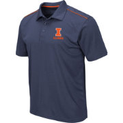 Colosseum Men's Illinois Fighting Illini Blue Eagle Polo