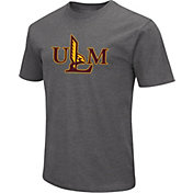 Colosseum Men's Louisiana-Monroe Warhawks Grey Dual Blend T-Shirt