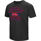 Colosseum Men's Ole Miss Rebels Grey Tri-Blend T-Shirt