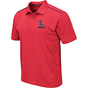 Colosseum Men's Ole Miss Rebels Red Eagle Polo