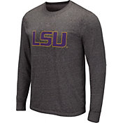 Colosseum Men's Marshall Thundering Herd Grey Long Sleeve T-Shirt
