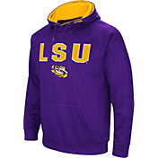 Colosseum Men's LSU Tigers Purple Fleece Pullover Hoodie