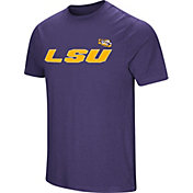 Colosseum Men's LSU Tigers Purple Brushed Performance T-Shirt