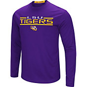 Colosseum Men's LSU Tigers Purple Long Sleeve Performance T-Shirt