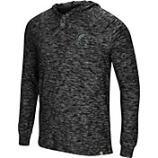 Colosseum Men's Michigan State Spartans 5 Crawfish Dinners Long Sleeve Black T-Shirt