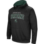 Colosseum Men's Michigan State Spartans Fleece Pullover Black Hoodie