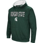 Colosseum Men's Michigan State Spartans Green Fleece Pullover Hoodie