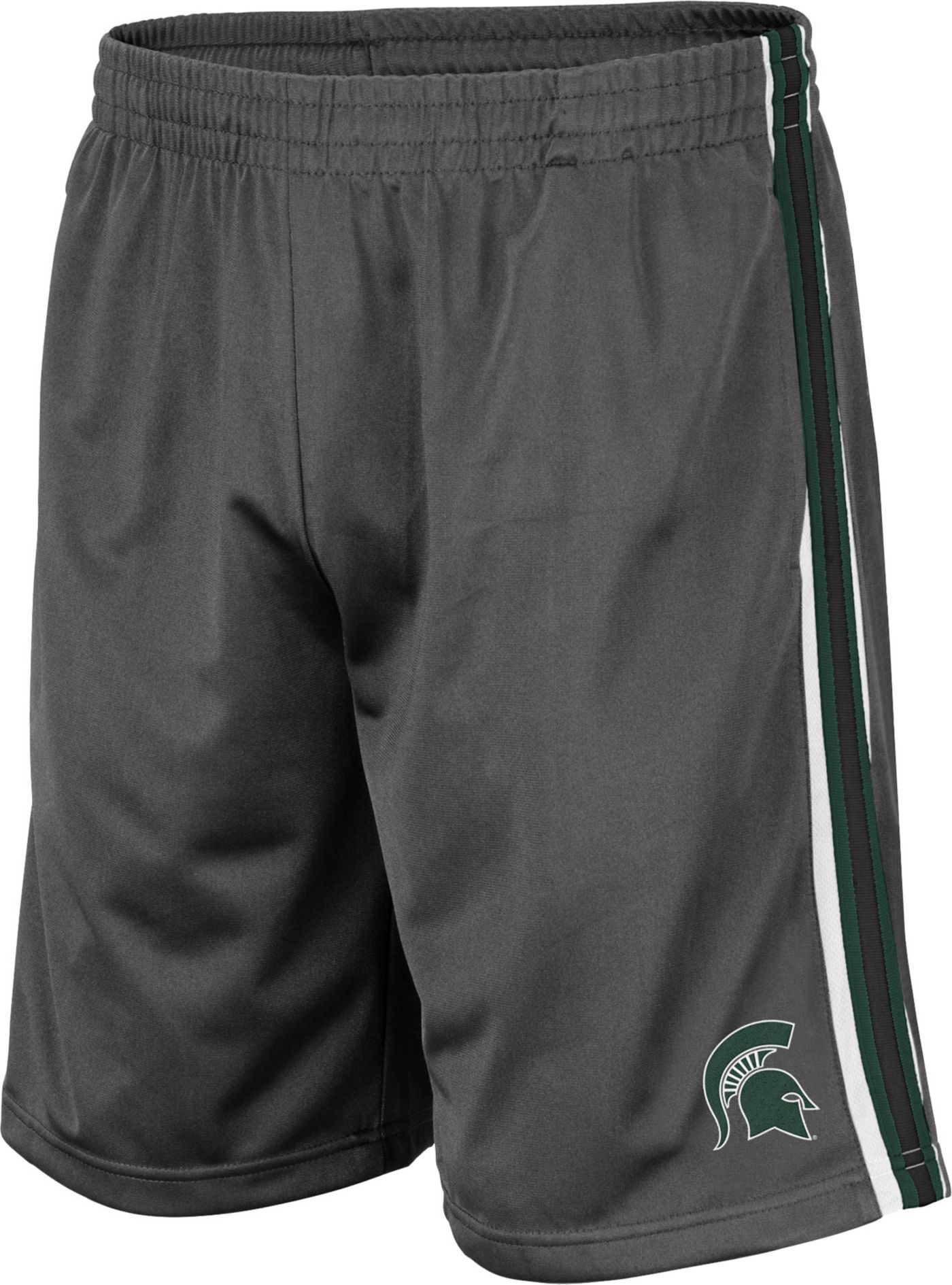 Colosseum Men's Michigan State Spartans Grey Santiago Shorts
