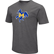 Colosseum Men's McNeese State Cowboys Grey Dual Blend T-Shirt