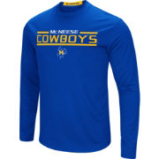 Colosseum Men's McNeese State Cowboys Royal Blue Long Sleeve Performance T-Shirt