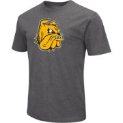 Colosseum Men's Minnesota-Duluth  Bulldogs Grey Dual Blend T-Shirt