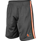 Colosseum Men's Miami Hurricanes Grey Santiago Shorts