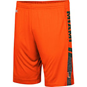 Colosseum Men's Miami Hurricanes Orange Perfect Season Shorts