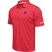 Colosseum Men's Miami RedHawks Red Axis Polo