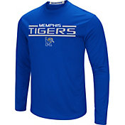 Colosseum Men's Memphis Tigers Blue Long Sleeve Performance T-Shirt