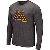 Colosseum Men's Missouri Tigers Grey Long Sleeve T-Shirt
