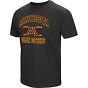 Colosseum Men's Minnesota Golden Gophers Grey Tri-Blend T-Shirt