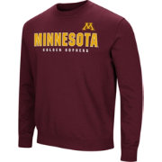 Colosseum Men's Minnesota Golden Gophers Maroon Playbook Fleece