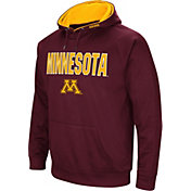 Colosseum Men's Minnesota Golden Gophers Maroon Fleece Pullover Hoodie