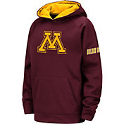 Colosseum Youth Minnesota Golden Gophers Maroon Fleece Pullover Hoodie