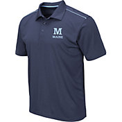 Colosseum Men's Maine Black Bears Blue Eagle Polo
