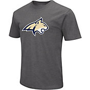 Colosseum Men's Montana State Bobcats Grey Dual Blend T-Shirt