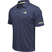 Colosseum Men's Montana State Bobcats Blue Axis Polo