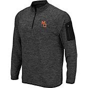 Colosseum Men's Mercer Bears Grey Quarter-Zip Shirt