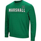 Colosseum Men's Marshall Thundering Herd Green Playbook Fleece