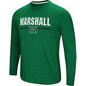 Colosseum Men's Marshall Thundering Herd Green Touchdown Long Sleeve T-Shirt
