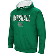 Colosseum Men's Marshall Thundering Herd Green Fleece Pullover Hoodie
