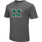 Colosseum Men's Marshall Thundering Herd Grey Dual Blend T-Shirt