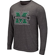 Colosseum Men's Miami Hurricanes Grey Long Sleeve T-Shirt
