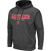 Colosseum Men's Maryland Terrapins Grey Pullover Hoodie