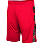 Colosseum Men's Maryland Terrapins Red Perfect Season Shorts