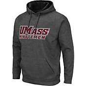 Colosseum Men's UMass Minutemen Grey Pullover Hoodie
