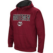 Colosseum Men's UMass Minutemen Maroon Fleece Pullover Hoodie