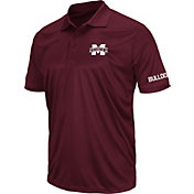 Colosseum Men's Mississippi State Bulldogs Maroon Stance Polo