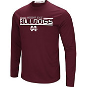 Colosseum Men's Mississippi State Bulldogs Maroon Long Sleeve Performance T-Shirt