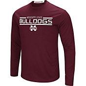 Colosseum Men's Mississippi State Bulldogs Maroon Long Sleeve Performance T-Shirt