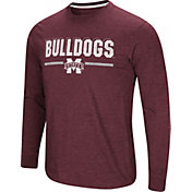 Colosseum Men's Mississippi State Bulldogs Maroon Touchdown Long Sleeve T-Shirt