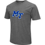 Colosseum Men's Middle Tennessee State Blue Raiders Grey Dual Blend T-Shirt