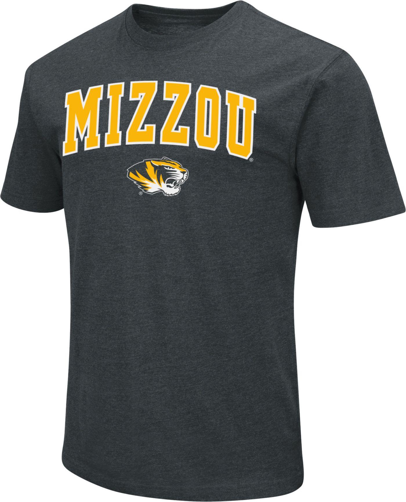 Colosseum Men's Missouri Tigers Dual Blend Black T-Shirt