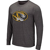 Colosseum Men's Mississippi State Bulldogs Grey Long Sleeve T-Shirt