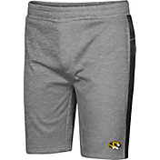 Colosseum Men's Missouri Tigers Grey Take A Knee Fleece Shorts